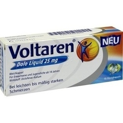 VOLTAREN DOLO LIQUID 25MG